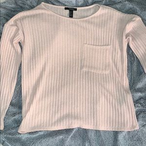 Baby pink forever 21 Small long sleeve💗